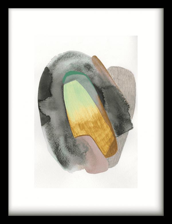 Airborne wandkleed Urban Cotton, design  - Enhanced Matte Fine Art Paper