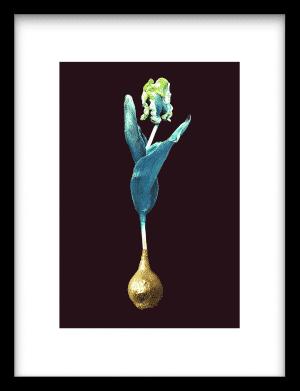 Blue Gold wandkleed Urban Cotton, design  - Enhanced Matte Fine Art Paper