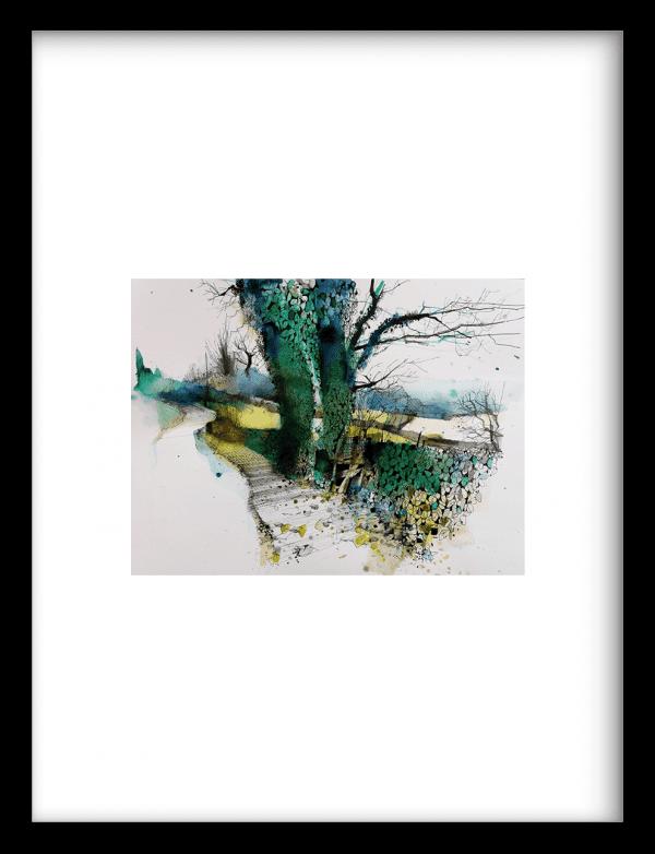 Burdwardsley wandkleed Urban Cotton, design  - Fine Art Paper
