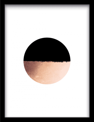 Circle collision wandkleed Urban Cotton, design  -  Enhanced Matte Fine Art Paper