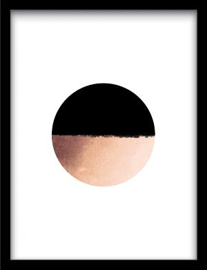 Circle collision wandkleed Urban Cotton, design  - Enhanced Matte Fine Art Paper
