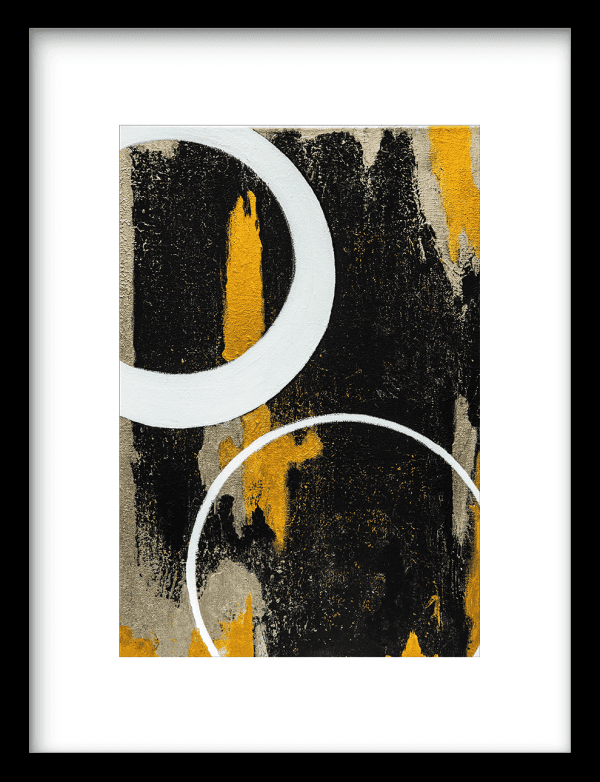 Circle two wandkleed Urban Cotton, design  - Enhanced Matte Fine Art Paper