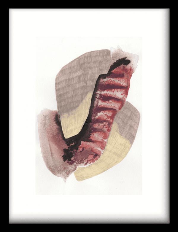 Embrace wandkleed Urban Cotton, design  - Enhanced Matte Fine Art Paper