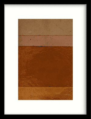 Geen bruin roze achtig wandkleed Urban Cotton, design  -  Enhanced Matte Fine Art Paper