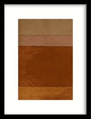 Geen bruin roze achtig wandkleed Urban Cotton, design  - Enhanced Matte Fine Art Paper