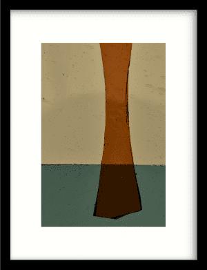 Geen mosterd wandkleed Urban Cotton, design  - Enhanced Matte Fine Art Paper