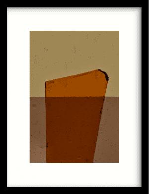Geen soort van oranje wandkleed Urban Cotton, design  - Enhanced Matte Fine Art Paper