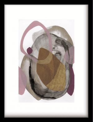Gravity wandkleed Urban Cotton, design  - Enhanced Matte Fine Art Paper