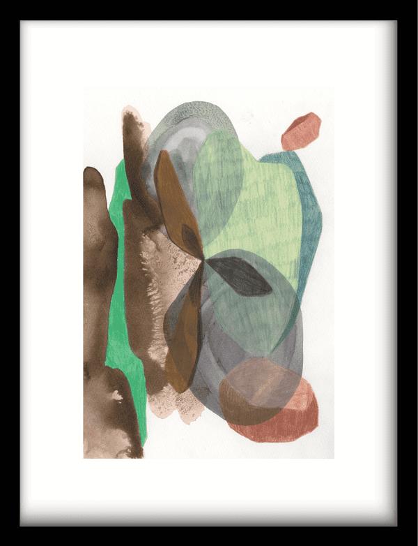 Grounding wandkleed Urban Cotton, design  - Enhanced Matte Fine Art Paper