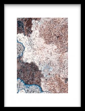 Growing stone wandkleed Urban Cotton, design  - Enhanced Matte Fine Art Paper
