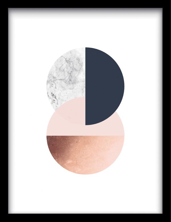 Infinity wandkleed Urban Cotton, design  - Enhanced Matte Fine Art Paper