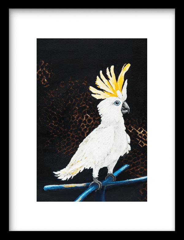 Kakketoo wandkleed Urban Cotton, design  - Enhanced Matte Fine Art Paper