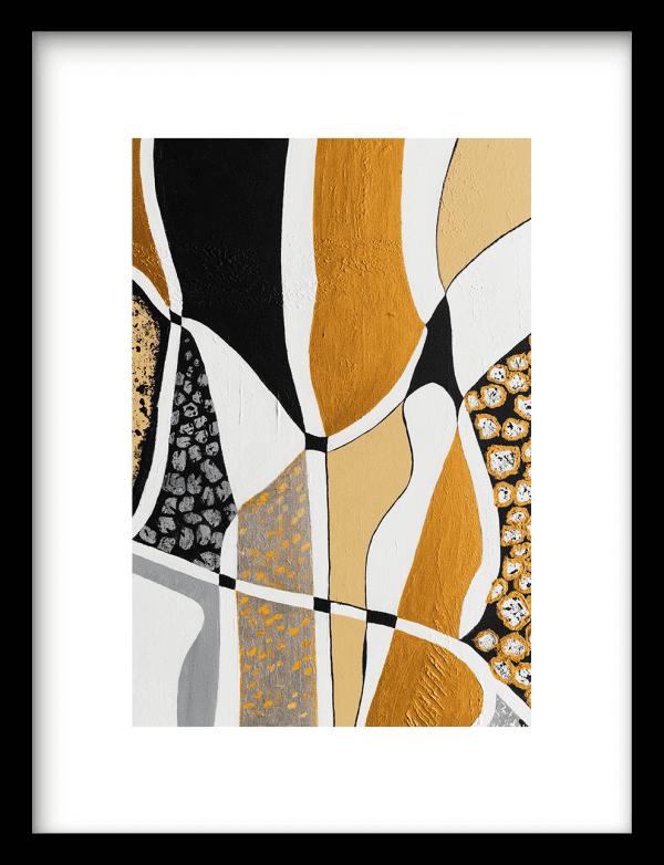 Labyrinth Black wandkleed Urban Cotton, design  - Enhanced Matte Fine Art Paper