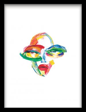 Maski wandkleed Urban Cotton, design  - Enhanced Matte Fine Art Paper
