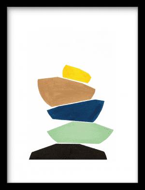 Midi Stoneman wandkleed Urban Cotton, design  - Enhanced Matte Fine Art Paper