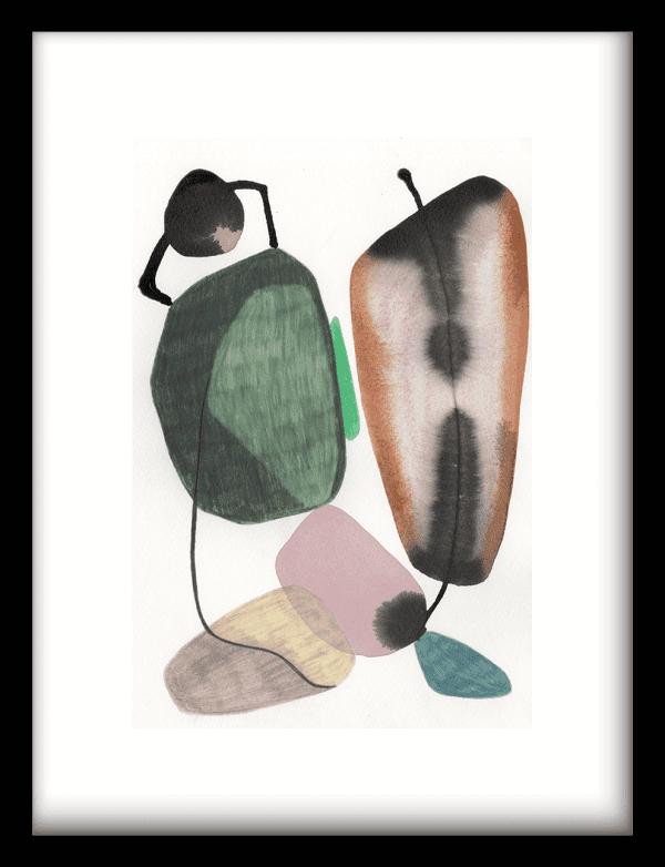 Mobility wandkleed Urban Cotton, design  - Enhanced Matte Fine Art Paper