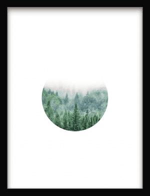 Modern Nature wandkleed Urban Cotton, design  - Enhanced Matte Fine Art Paper