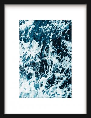 Ocean Waves wandkleed Urban Cotton, design  - Enhanced Matte Fine Art Paper