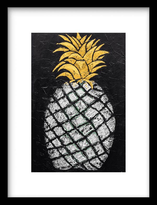 Pineapple wandkleed Urban Cotton, design  - Enhanced Matte Fine Art Paper