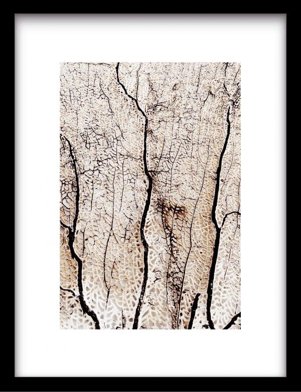 Soft coral wandkleed Urban Cotton, design  - Enhanced Matte Fine Art Paper