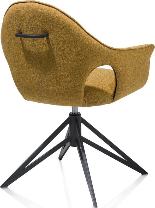 Lola armstoel, excentriek modern design uit de Xooon eetkamerstoelen collectie - eetstoel