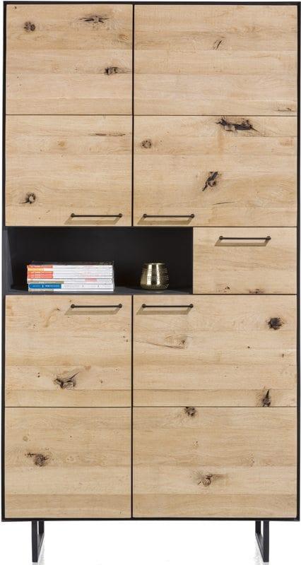 bergkast 4-deuren + 1-lade + 1-niche - 100 cm (+ LED) BARCINI CABINET XOOON Lowik Wonen & Slapen