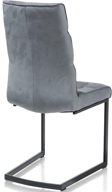 Jasmin stoel Xooon - Kibo / Savannah blauw