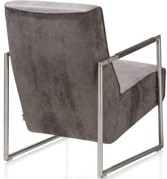 Fauteuil Bueno rvs uit de Xooon design collectie, betaalbare design meubels