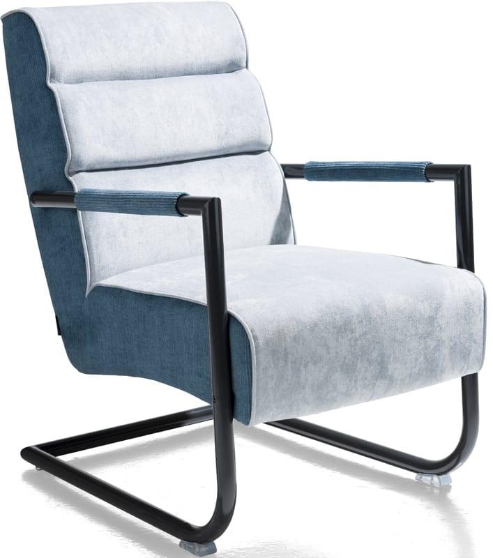 Luzern fauteuil - combi stof