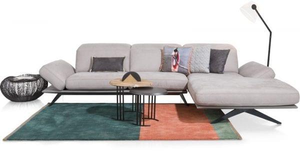 Paxos hoekbank met longchair, modern design van Xooon