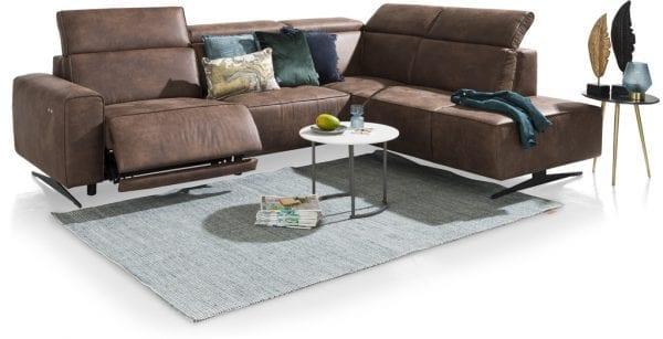Torbay hoekbank van Xooon, comfortabele relaxbank met een oogstrelend design
