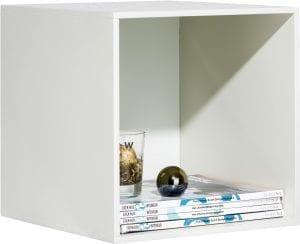 Glasgow box 33 x 33 cm Wit XOOON Lowik Wonen & Slapen
