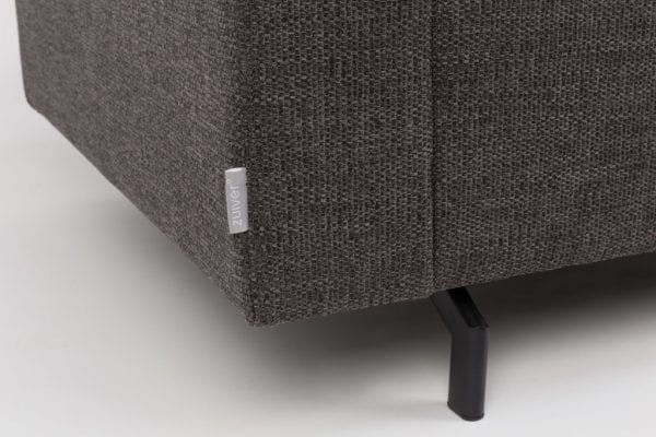 Bank Jean 2,5-Seater Anthracite modern design uit de Zuiver meubel collectie - 3200126