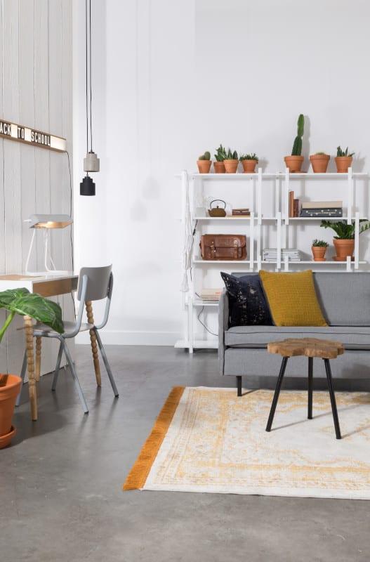 Bank Jaey 3-Seater Comfort Grey 91 modern design uit de Zuiver meubel collectie - 3200045