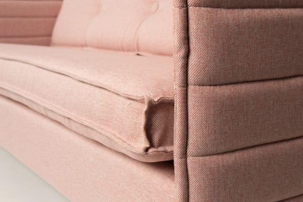 Bank Jaey 3-Seater Salsa Salmon modern design uit de Zuiver meubel collectie - 3200043