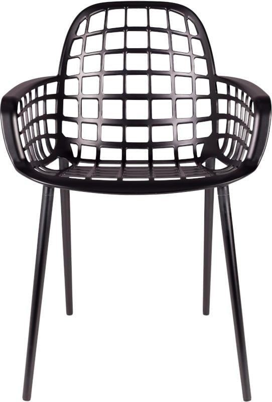 Armstoel Albert Kuip Garden Black modern design uit de Zuiver meubel collectie - 1200170