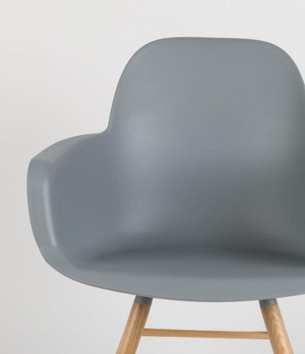 Armstoel Albert Kuip Grey modern design uit de Zuiver meubel collectie - 1200133