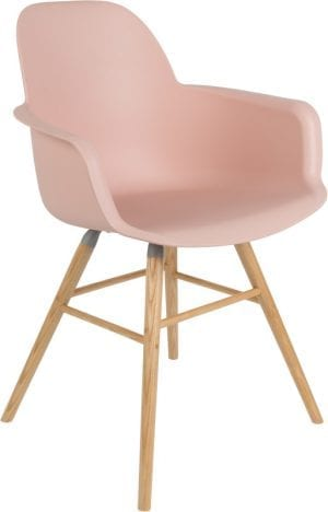 Armstoel Albert Kuip Old Pink modern design uit de Zuiver meubel collectie - 1200134