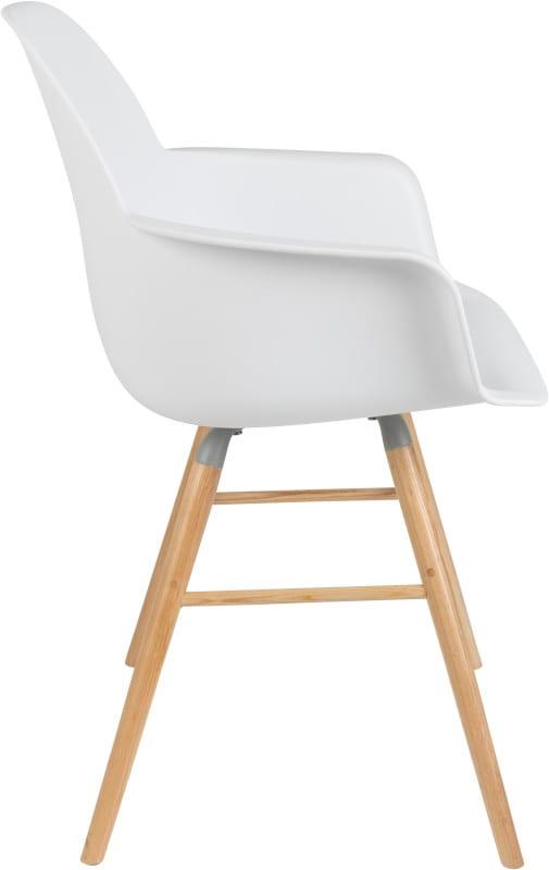 Armstoel Albert Kuip White modern design uit de Zuiver meubel collectie - 1200131