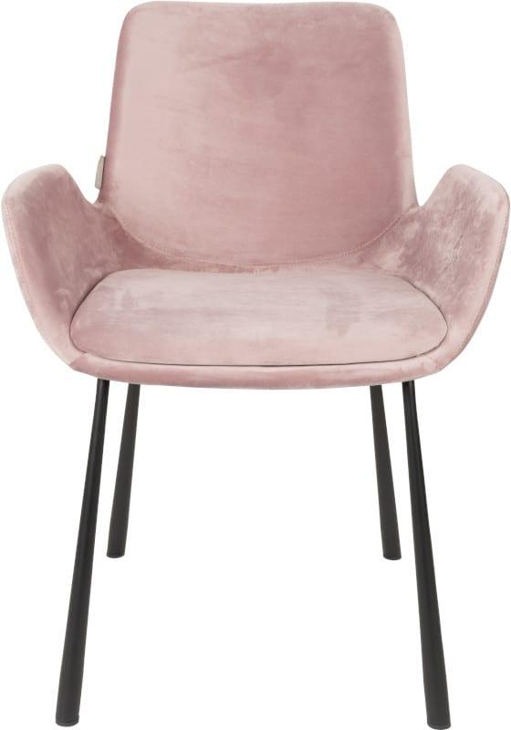 Armstoel Brit Pink modern design uit de Zuiver meubel collectie - 1200143
