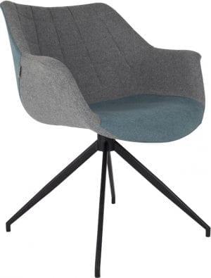 Armstoel Doulton Blue modern design uit de Zuiver meubel collectie - 1200114
