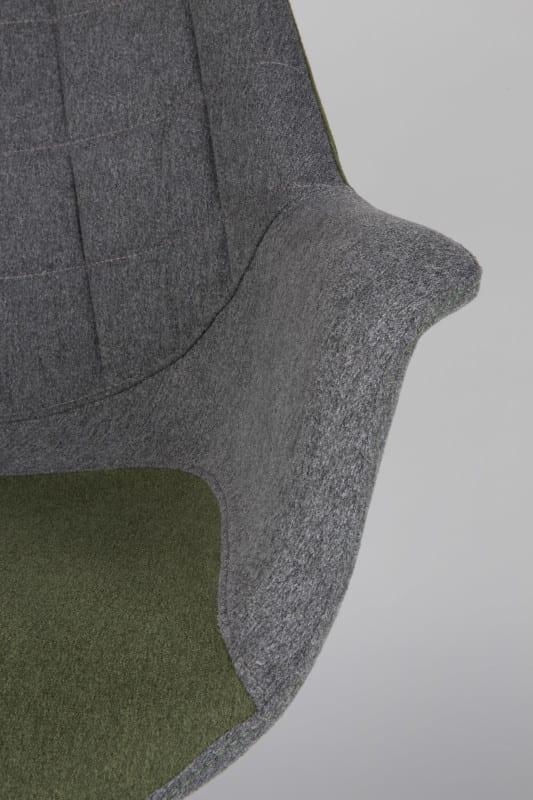 Armstoel Doulton Green modern design uit de Zuiver meubel collectie - 1200113