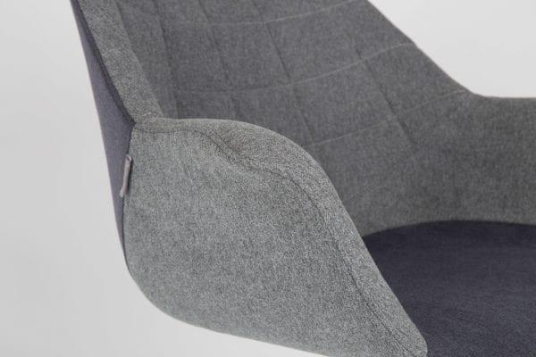 Armstoel Doulton Grey modern design uit de Zuiver meubel collectie - 1200112