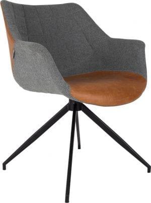 Armstoel Doulton Vintage Brown modern design uit de Zuiver meubel collectie - 1200119