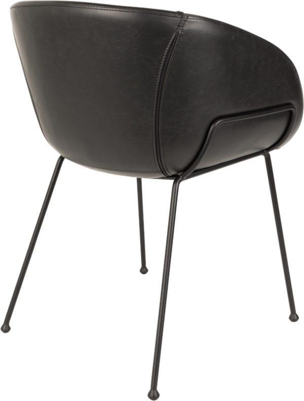 Armstoel Feston Black modern design uit de Zuiver meubel collectie - 1200146