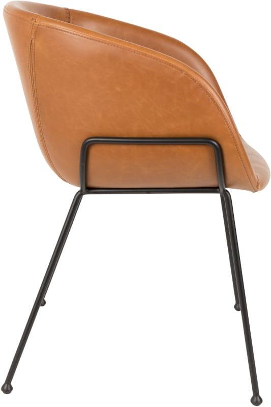 Armstoel Feston Brown modern design uit de Zuiver meubel collectie - 1200147