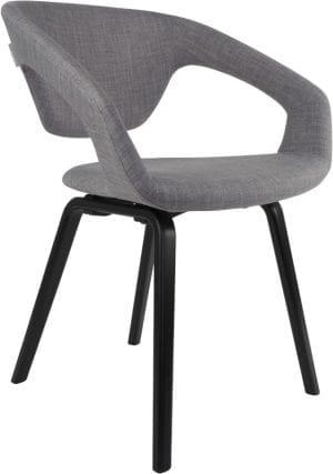 Armstoel Flexback Black/Grey modern design uit de Zuiver meubel collectie - 1200127
