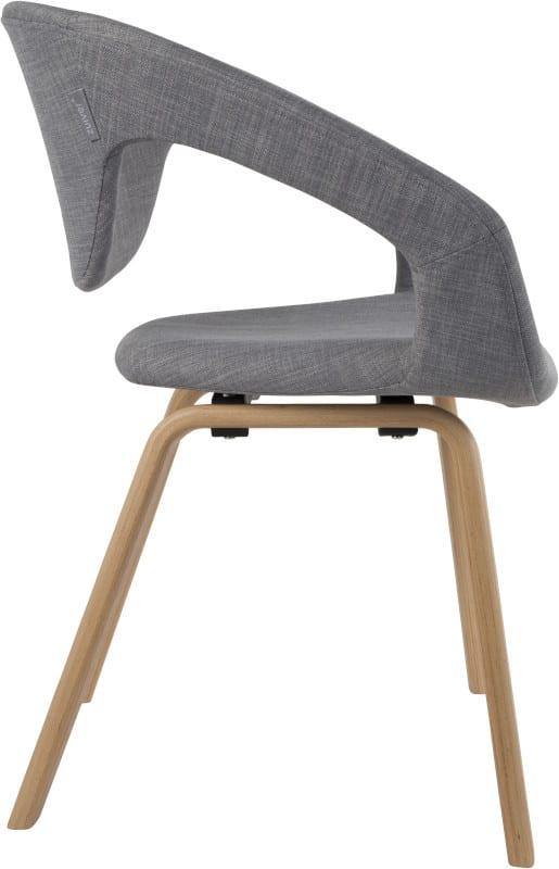 Armstoel Flexback Natural/Grey modern design uit de Zuiver meubel collectie - 1200126
