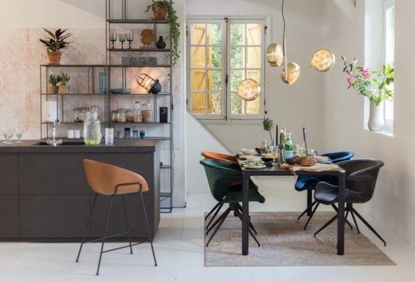 Armstoel Mia Blue modern design uit de Zuiver meubel collectie - 1200151
