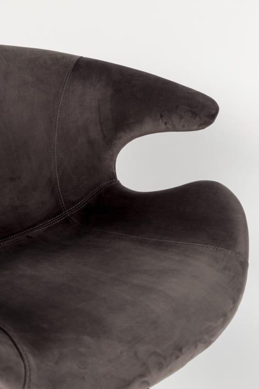 Armstoel Mia Grey modern design uit de Zuiver meubel collectie - 1200150